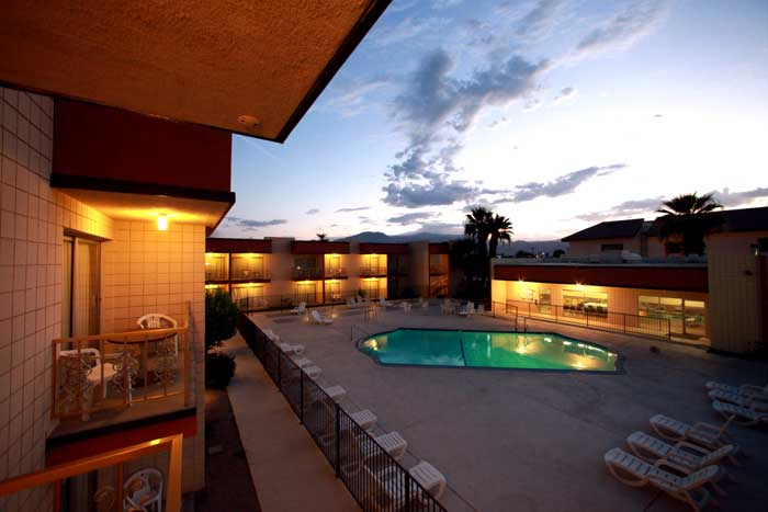 Royal Palms Motel Hotel Inn Lodging Accommodations Budget Affordable LodgingIndio California